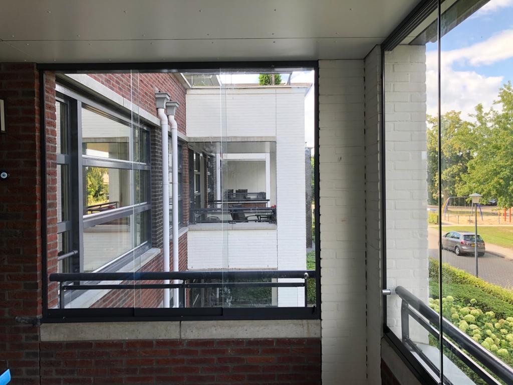Balkonbeglazing schuifwand